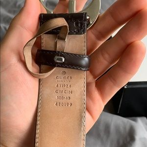 Gucci Accessories - An authentic men's double locking G Gucci Belt